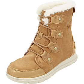 Sorel Expl**** Joan Laarzen Dames, camel brown/ancient fossil